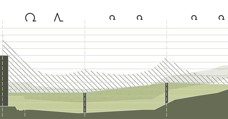 Wald-Wiese-Architektur-Aussicht-Einblick